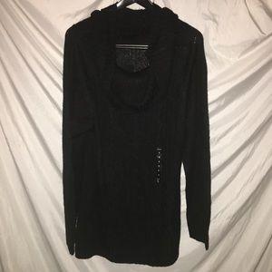 Torrid black Cowl neck sweater. Size 3. (22-24)NWT